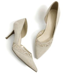 Marc Fisher D'orsay Suede Pointy toe Heels SZ0323